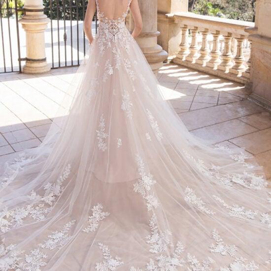 Enzoani - Ines Brautkleid Rückansicht 1