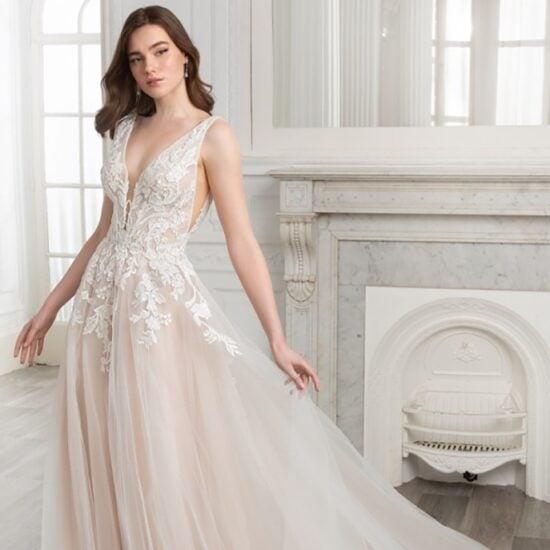 Enzoani - Soleil Brautkleid Vorderansicht 1
