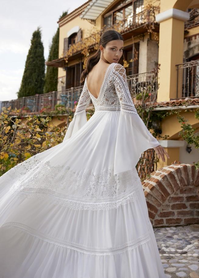 Herve Paris - Adelynn Brautkleid Rückansicht 1