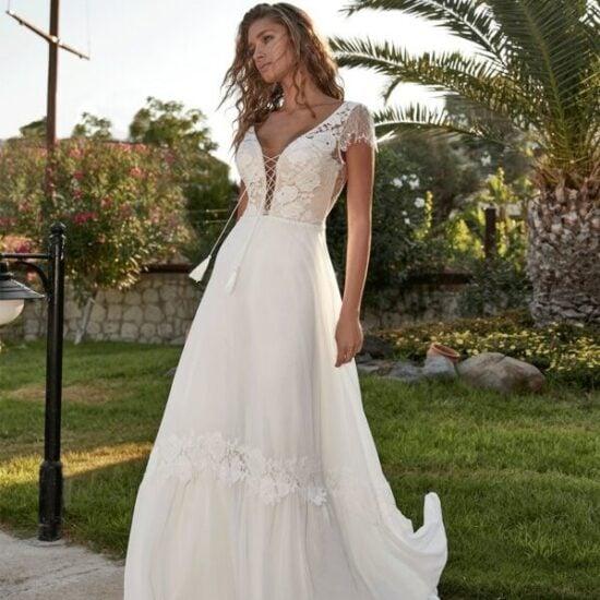 Herve Paris - Tilly Brautkleid Vorderansicht 1