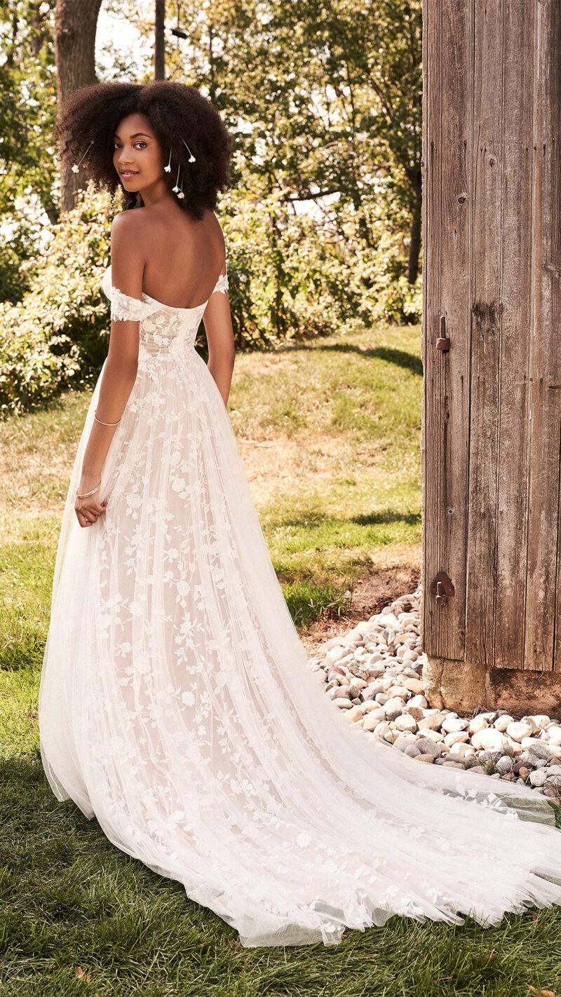 Lillian West - 66184 Brautkleid Rückansicht 2