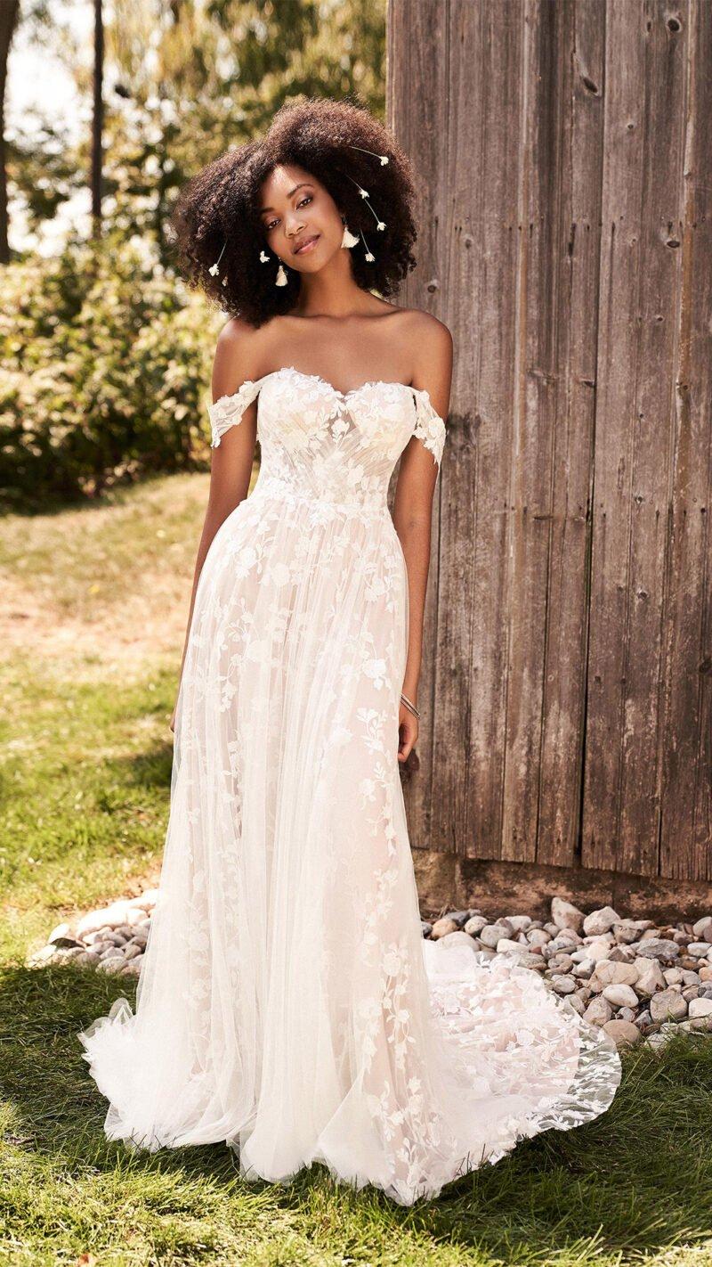 Lillian West - 66184 Brautkleid Vorderansicht 1