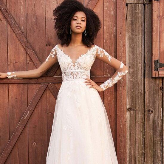 Lillian West - 66192 Brautkleid Vorderansicht 1