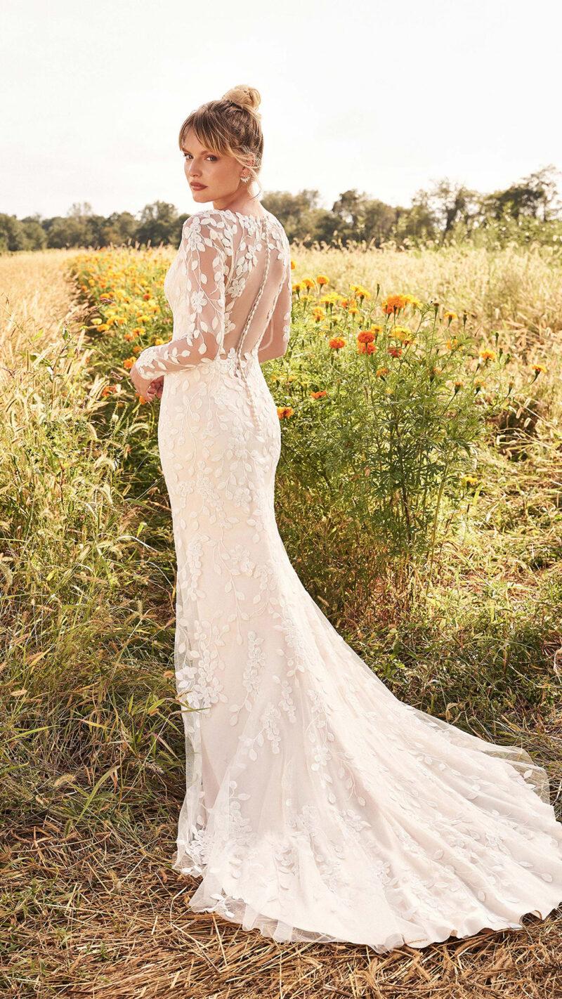 Lillian West - 66195 Brautkleid Rückansicht 2