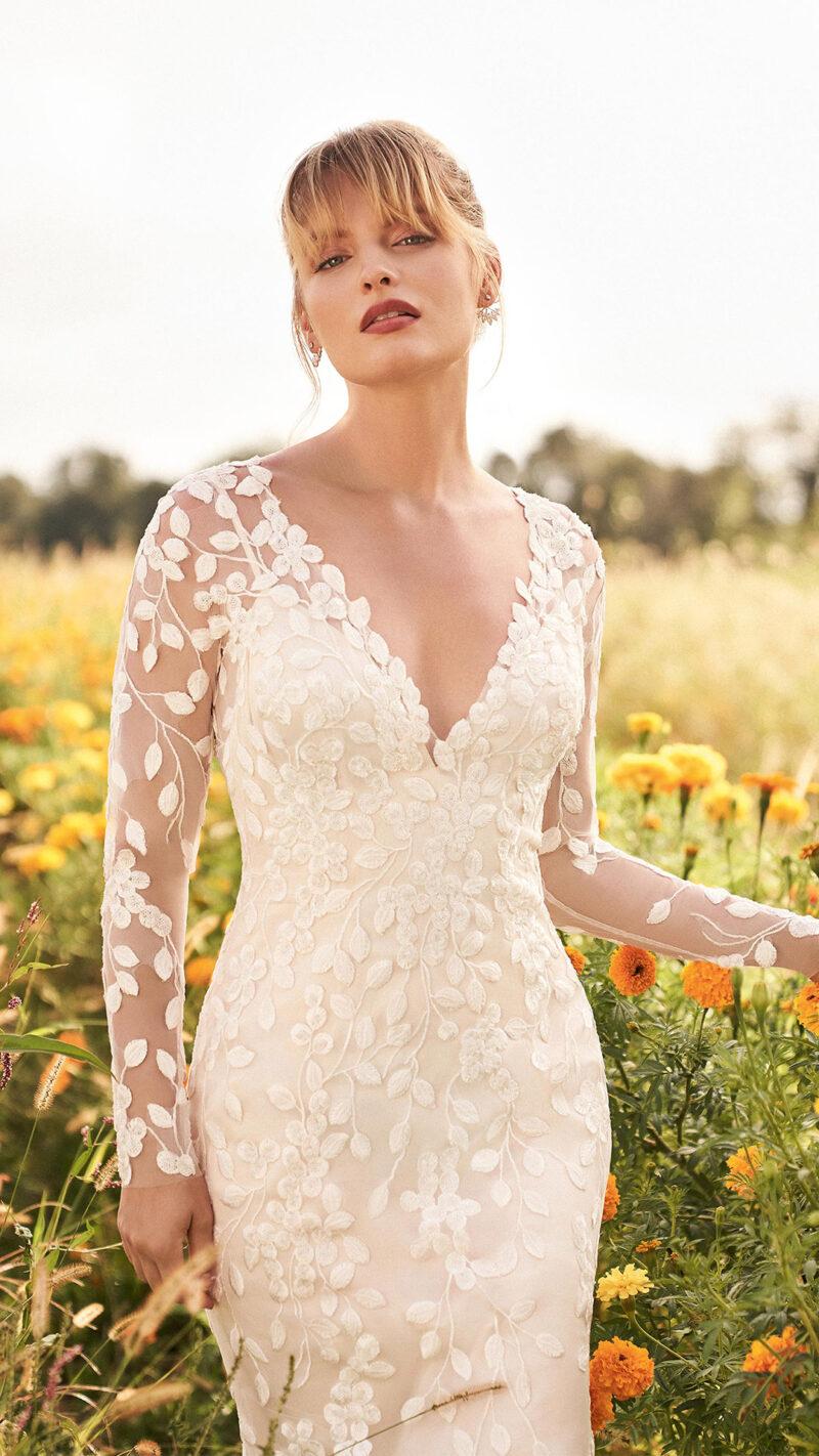 Lillian West - 66195 Brautkleid Vorderansicht 2