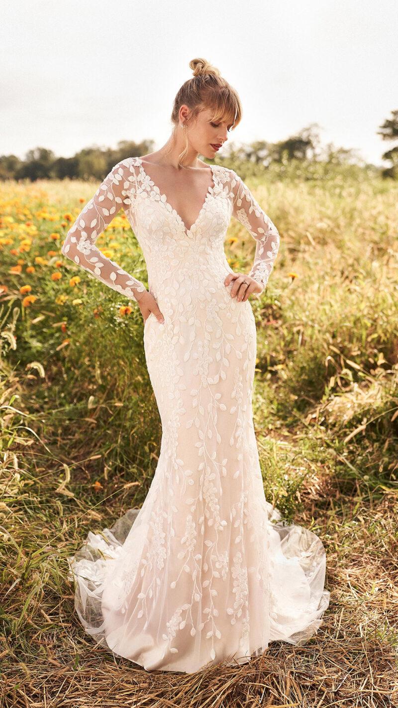 Lillian West - 66195 Brautkleid Vorderansicht 3