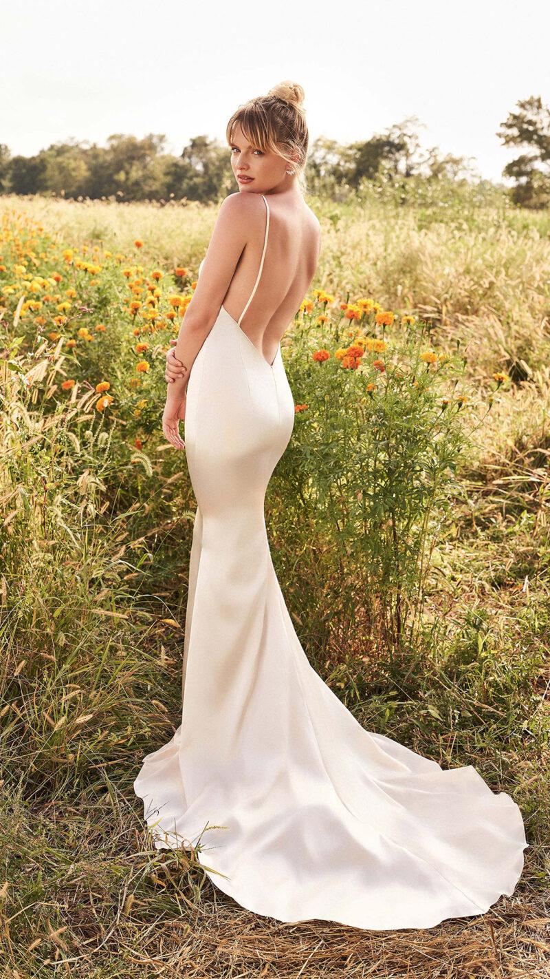 Lillian West - 66195 Brautkleid Rückansicht 3