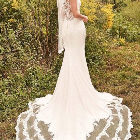 Lillian West - 66199 Brautkleid Rückansicht 1