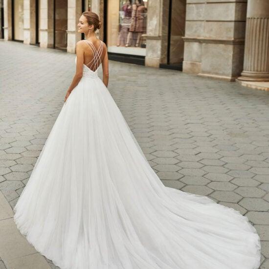 Luna Novias - Figaro Brautkleid Rückansicht 1