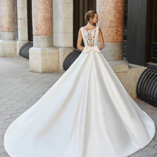 Luna Novias - Francia Brautkleid Rückansicht 2