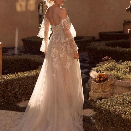 Madi Lane - Brooklyn Brautkleid Rückansicht 1