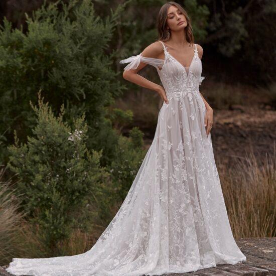 Madi Lane - Calissa Brautkleid Vorderansicht 1
