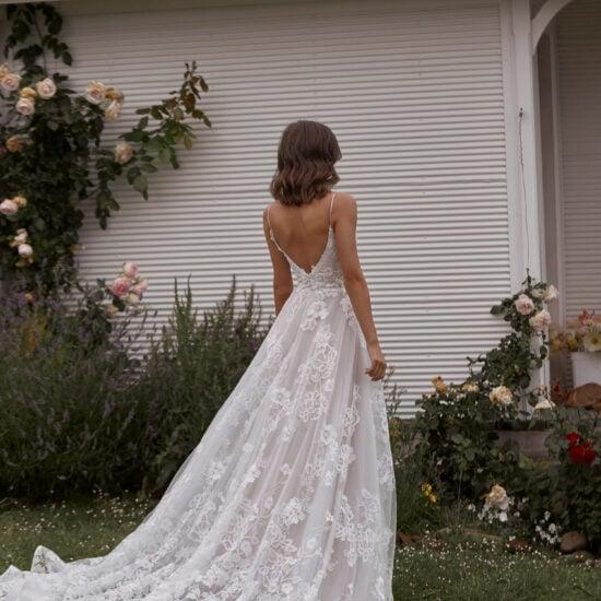 Madi Lane - Carina Brautkleid Rückansicht 1