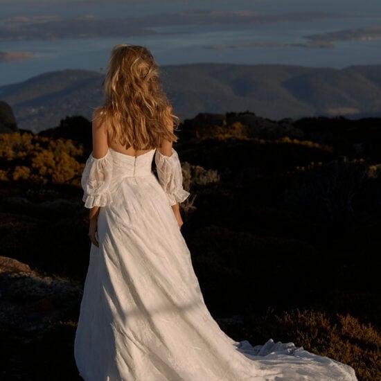 Madi Lane - Cami Brautkleid Rückansicht 1