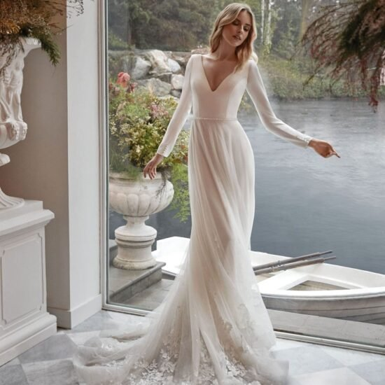 Nicole Milano - Adonide Brautkleid Vorderansicht 1