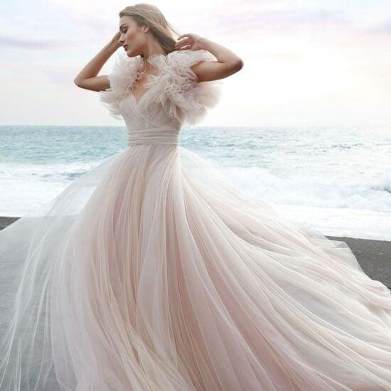 Nicole Milano - Anghel Brautkleid Vorderansicht 1