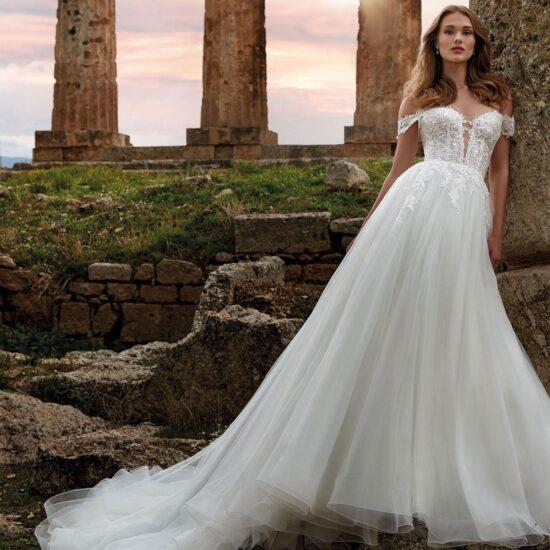 Nicole Milano - Iride Brautkleid Vorderansicht 1