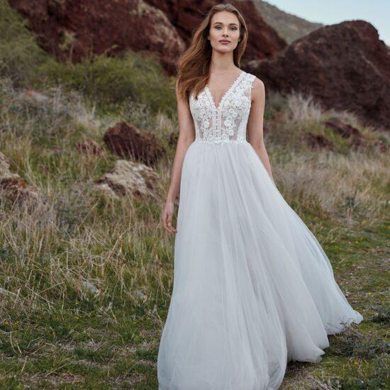 Nicole Milano - Nemesi Brautkleid Vorderansicht 1