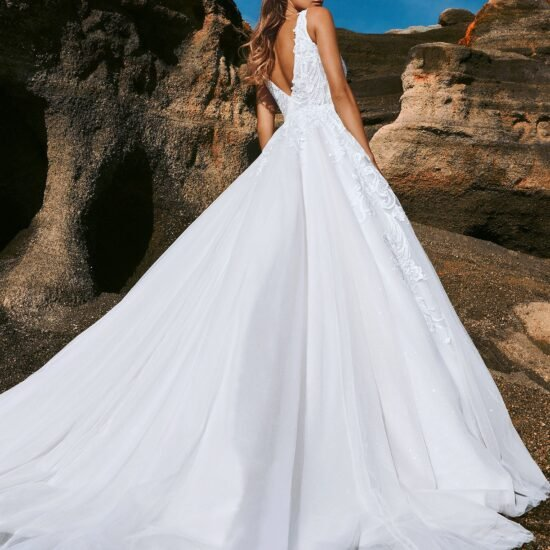 Pronovias - Skye Brautkleid Rückansicht 1