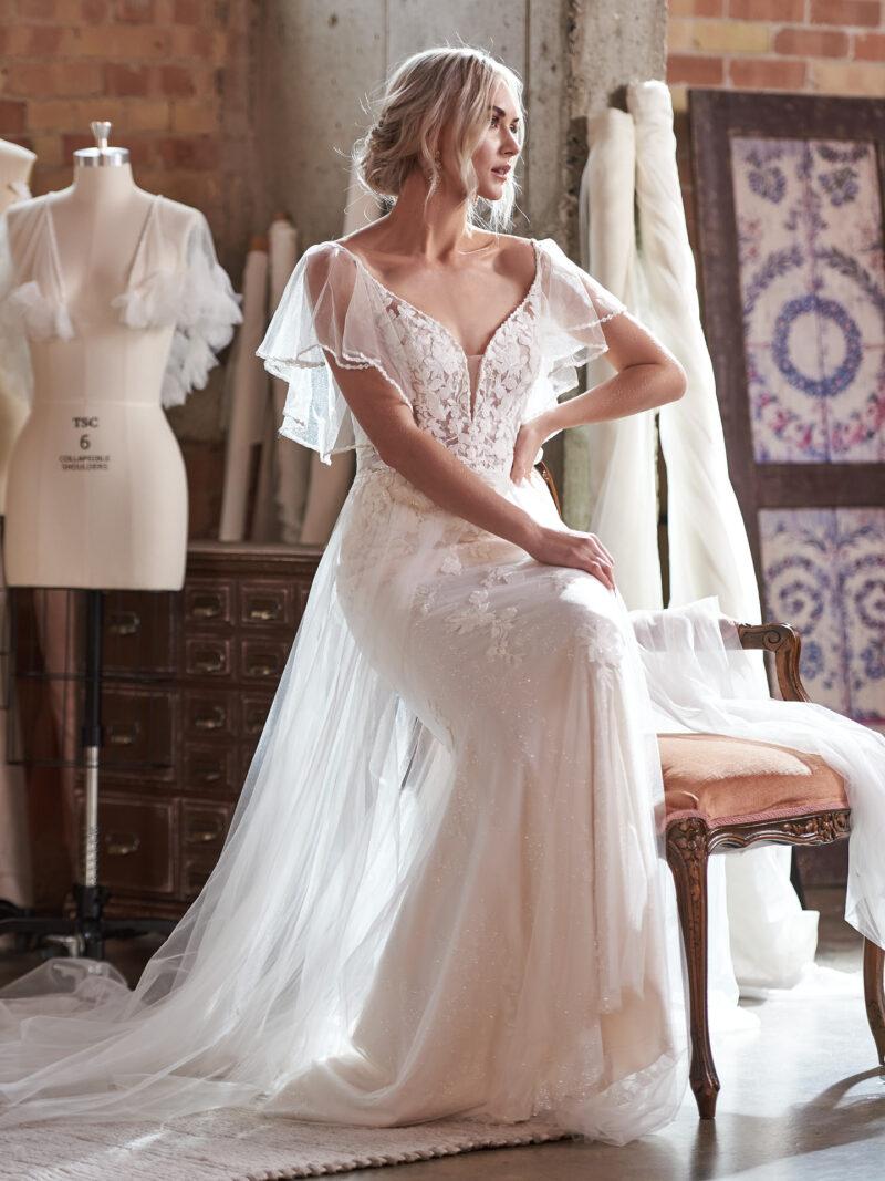 Rebecca Ingram - Fantasia Brautkleid Vorderansicht 2