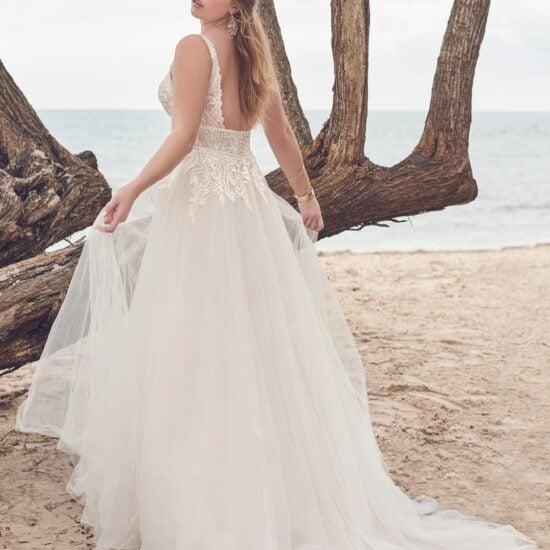 Rebecca Ingram - Isabella Brautkleid Rückansicht 1