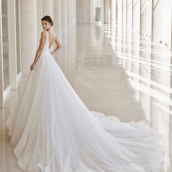 Rosa Clará - Niam Brautkleid Rückansicht 1