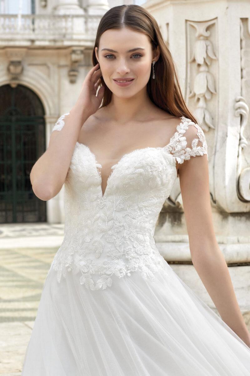 Justin Alexander - 11147 Brautkleid Vorderansicht 2