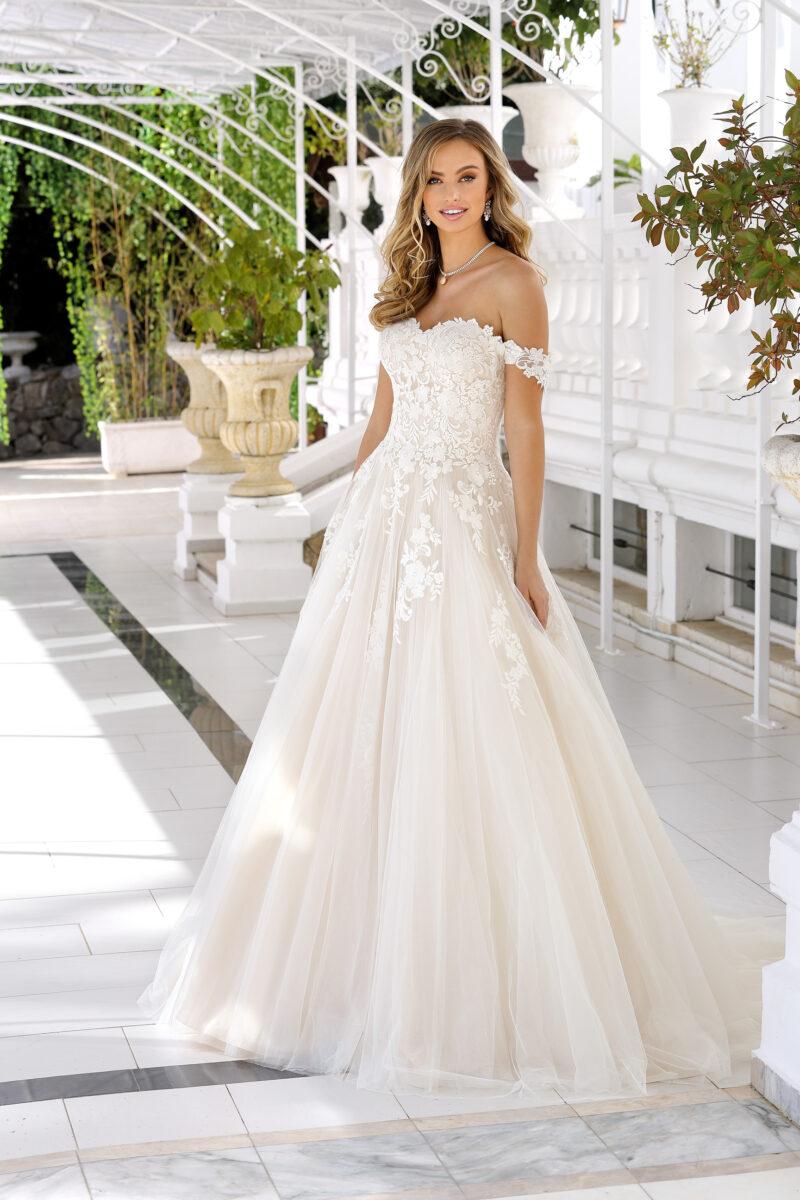 Ladybird - 420045 Brautkleid Vorderansicht 2