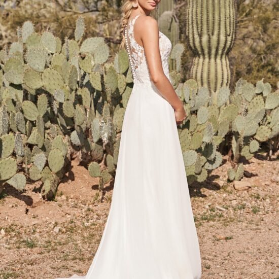 Lillian West - 66154 Brautkleid Rückansicht 1