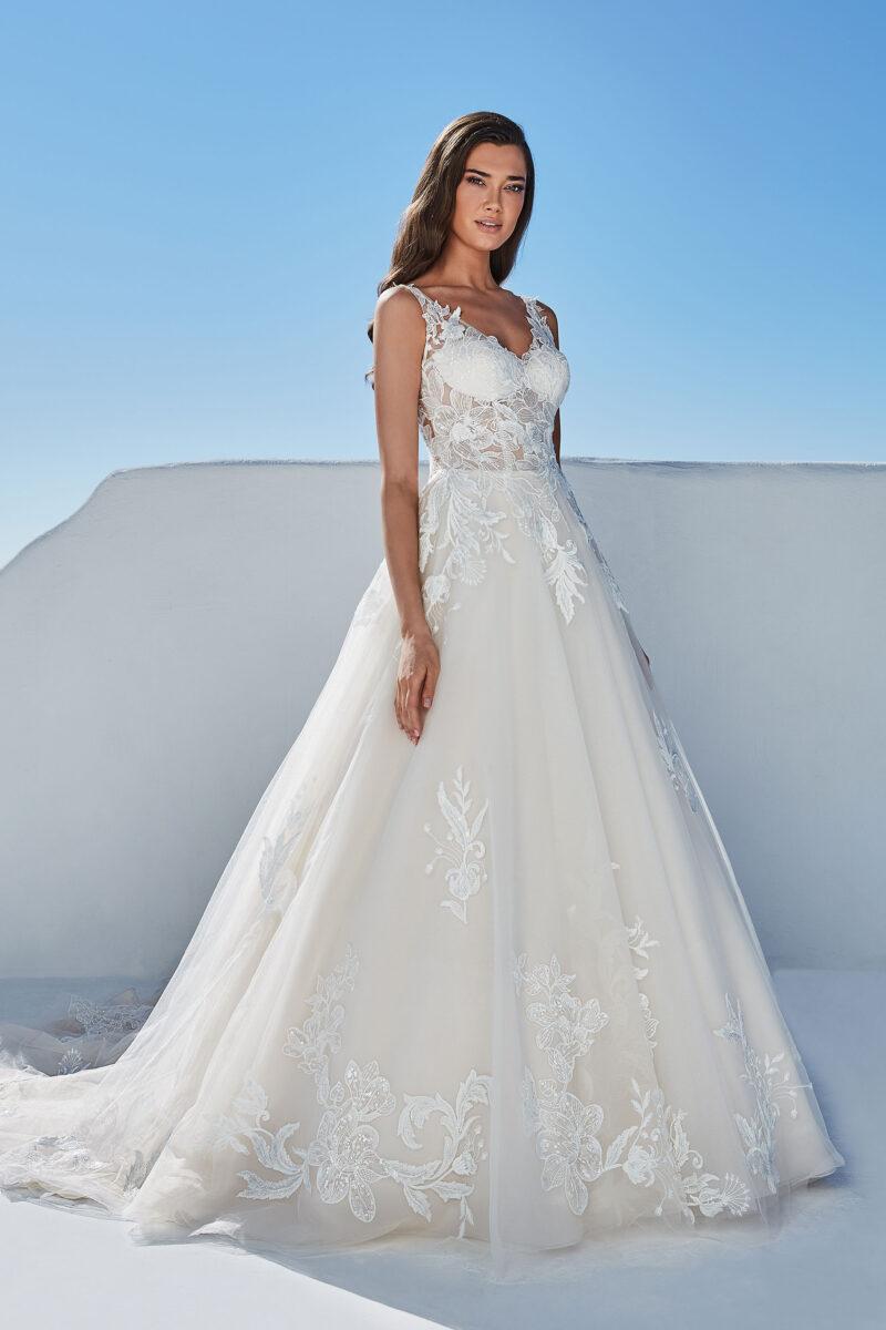 Justin Alexander - 88196 Brautkleid Vorderansicht 3