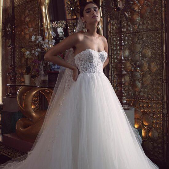 Watters Wtoo - Bessette Brautkleid Vorderansicht 3