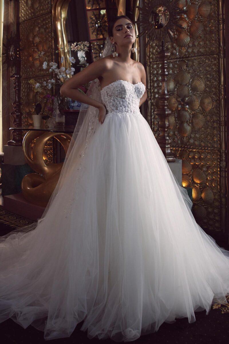 Watters Wtoo - Bessette Brautkleid Vorderansicht 2