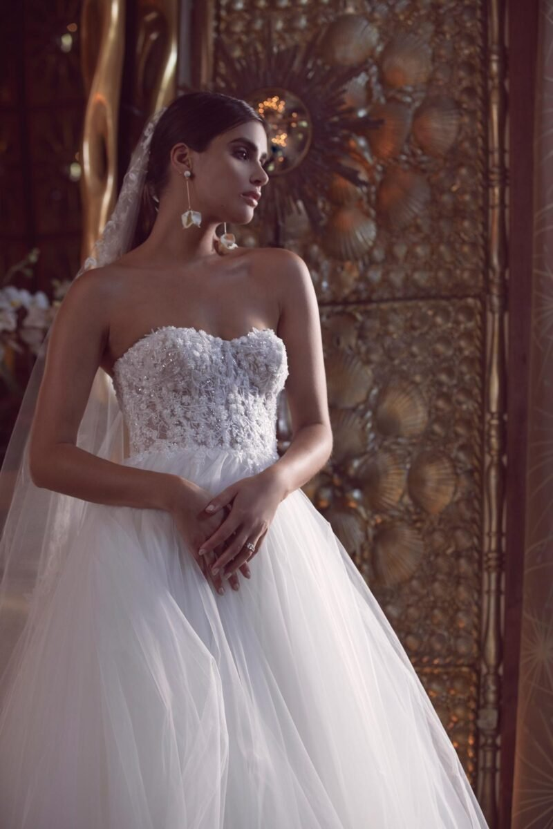 Watters Wtoo - Bessette Brautkleid Vorderansicht 1