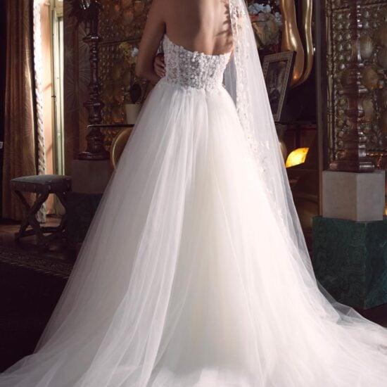 Watters Wtoo - Bessette Brautkleid Rückansicht 1