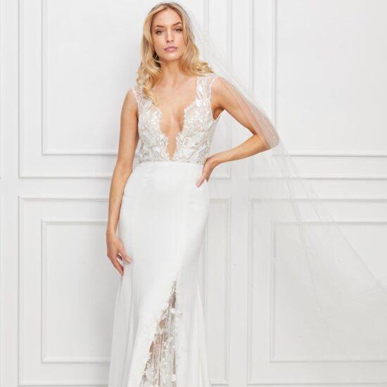 Watters Wtoo - Dascher Brautkleid Vorderansicht 4