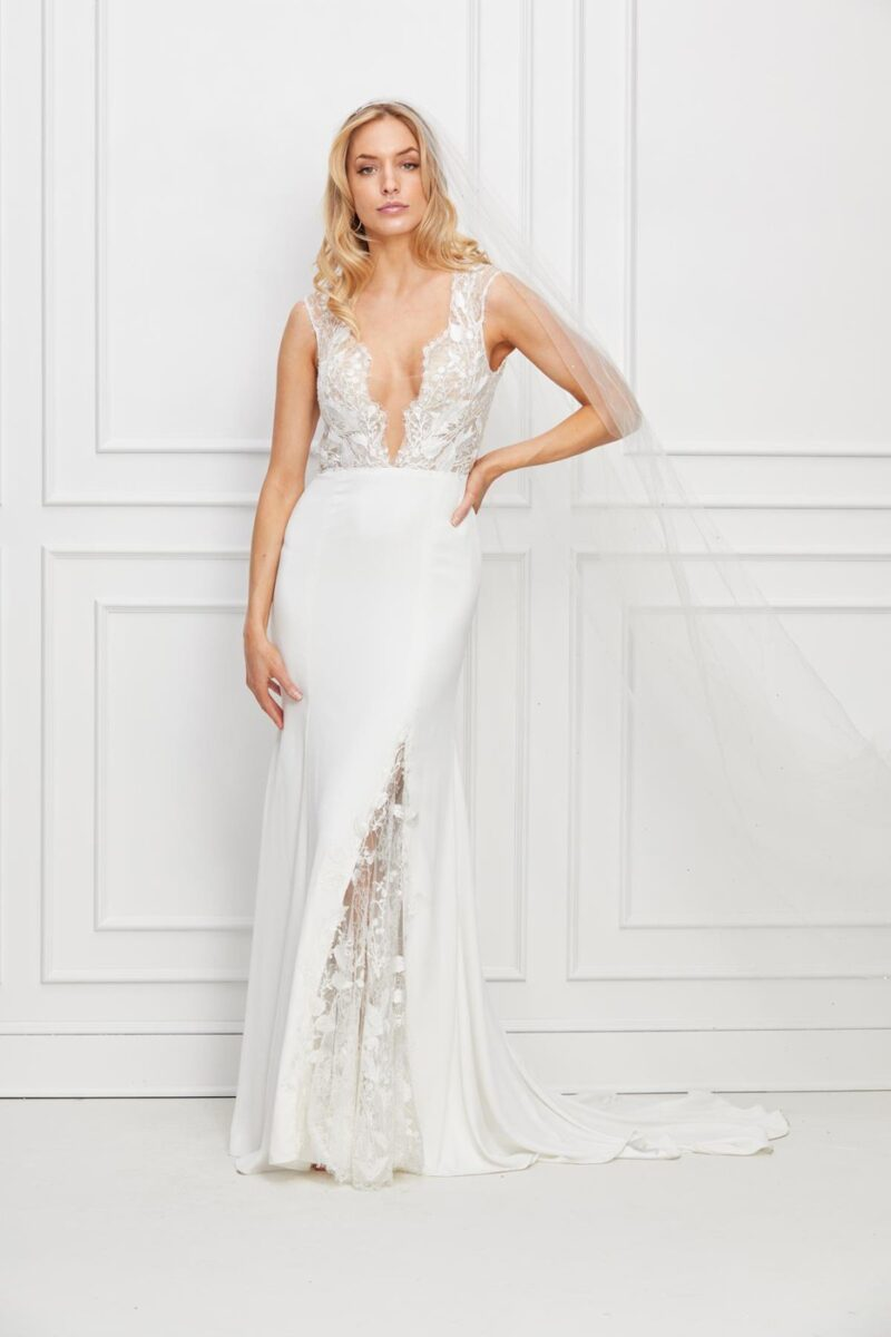 Watters Wtoo - Dascher Brautkleid Vorderansicht 3