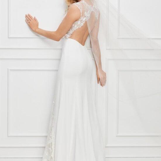 Watters Wtoo - Dascher Brautkleid Rückansicht 2