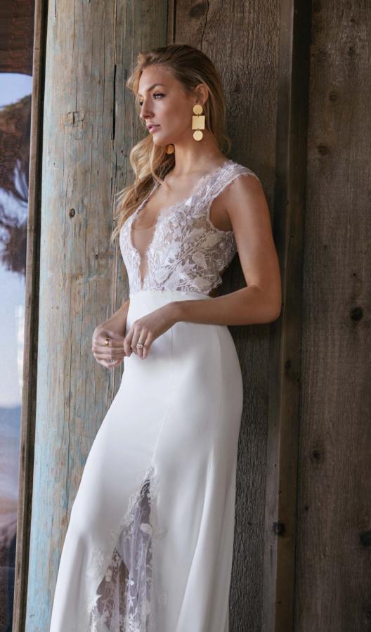 Watters Wtoo - Dascher Brautkleid Vorderansicht 1