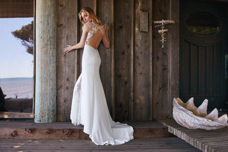 Watters Wtoo - Dascher Brautkleid Rückansicht 1