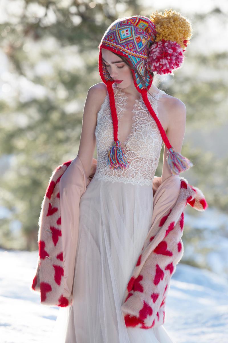 Watters Willowby - Daylily Brautkleid Vorderansicht 1