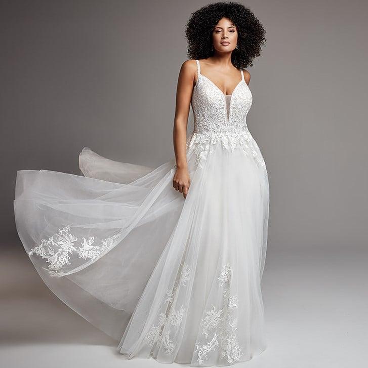 Eddy K - MD313 Brautkleid Vorderansicht 1