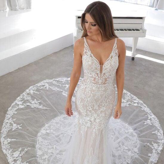 Enzoani - Nasima Brautkleid Vorderansicht 1