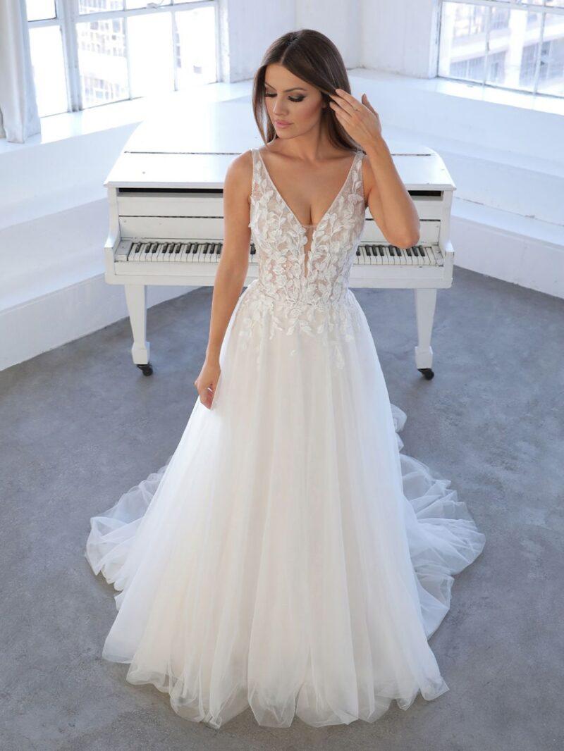 Enzoani - Niva Brautkleid Vorderansicht 3
