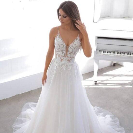 Enzoani - Normandie Brautkleid Vorderansicht 3