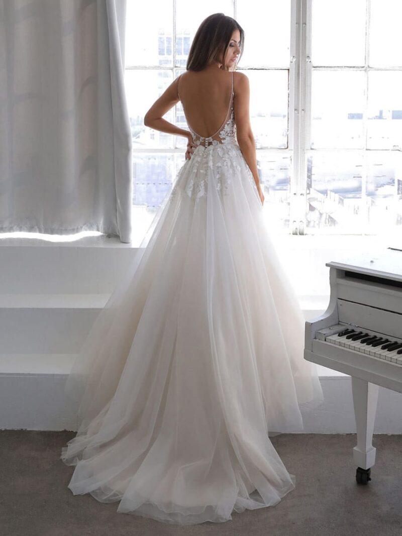 Enzoani - Normandie Brautkleid Rückansicht 1