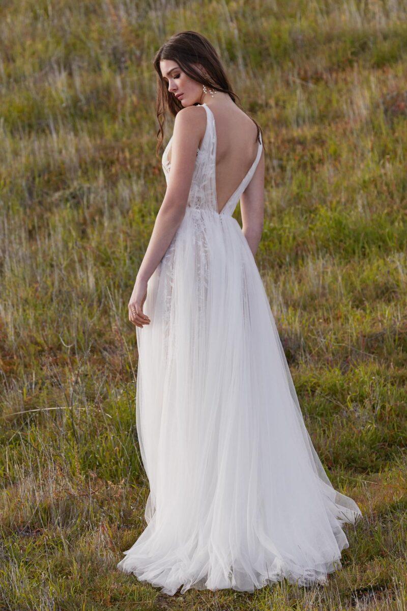 Watters Willowby - Hamlin Brautkleid Rückansicht 1