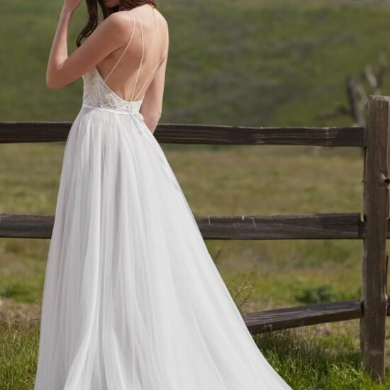 Watters Willowby - Harper Brautkleid Rückansicht 1