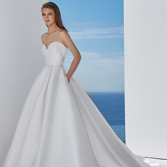 Justin Alexander - 88110 Brautkleid Vorderansicht 1