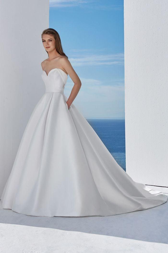 Justin Alexander - 88110 Brautkleid Vorderansicht 3