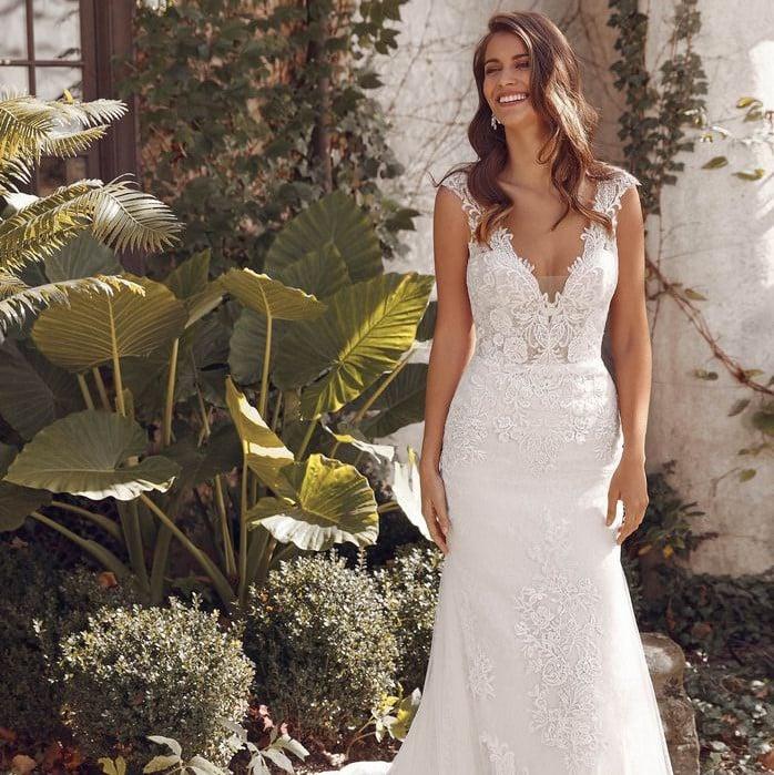 Justin Alexander - 88141 Brautkleid Vorderansicht 1